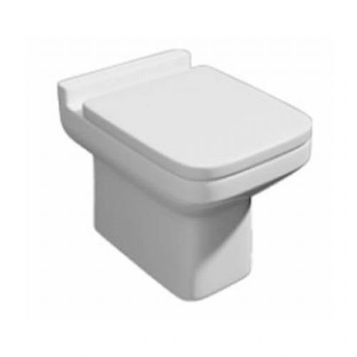 Kartell Trim Back To Wall - Soft Close Seat - White